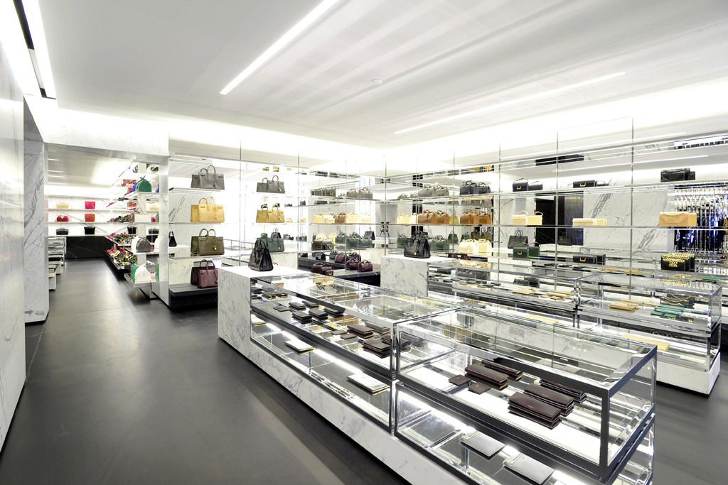 Saint Laurent's Avenue Montaigne Paris Flagship Boutique