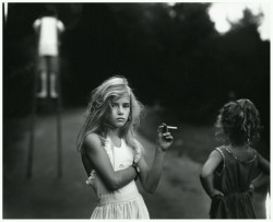 bemyroots:  Candy cigarette, 1969 by Sally Mann