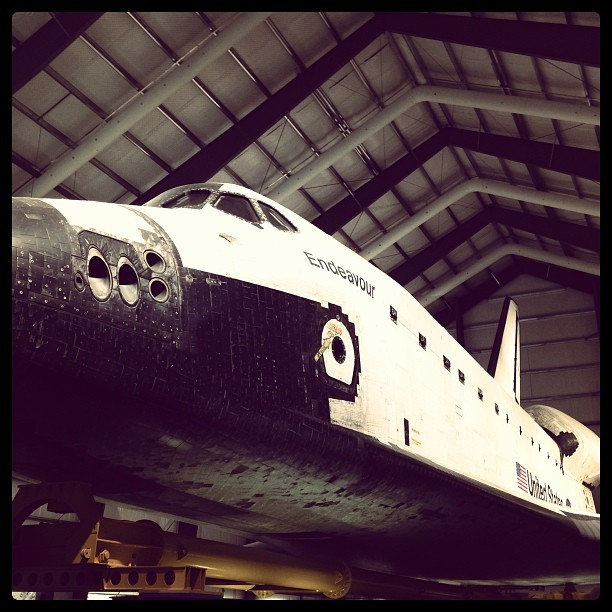 Space Shuttle Endeavour (at Space Shuttle Endeavour @ California Science Center)