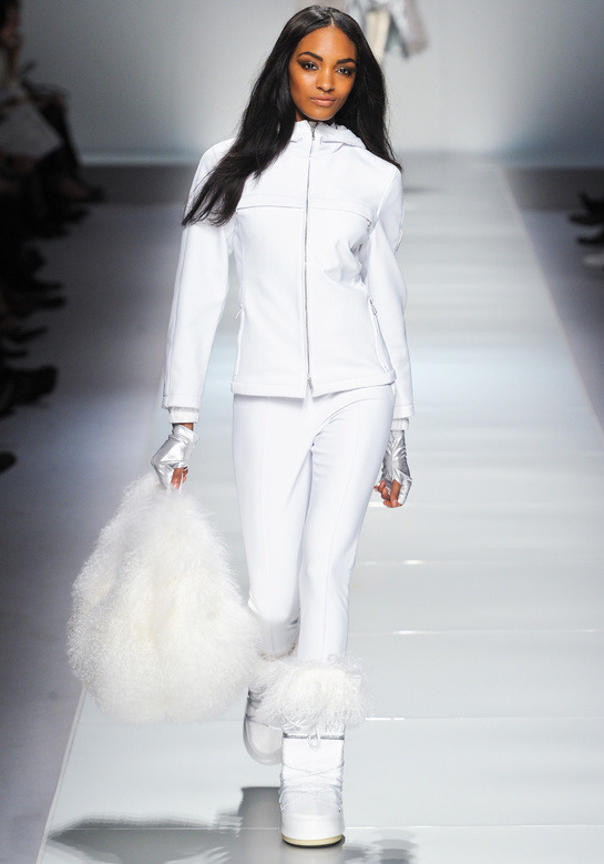 couture-models:  Jourdan Dunn at Blumarine Fall/Winter 2012