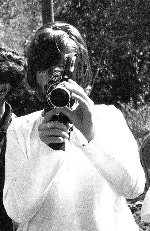 Photographer John, 1968 in Rishikesh(?)
