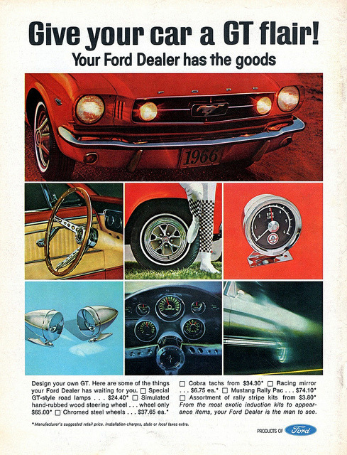 1966 Ford Mustang Accessories by aldenjewell on Flickr.1966 Ford Mustang Accessories