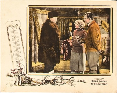 Lobby card for 30 Below Zero (1926). Click to enlarge. Sold here.