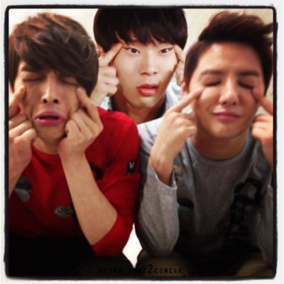 Wacky Face! hahaha                      #JYJ #Micky #Hero #Xiah (at Juan Luna St. San Roque, Cavite City Philippines)