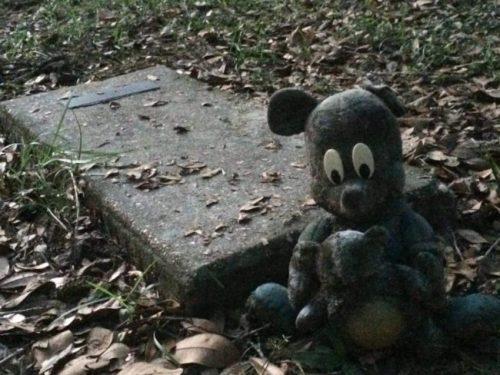 gravestone grave morbid sad