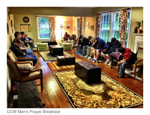 April men's prayer breakfast