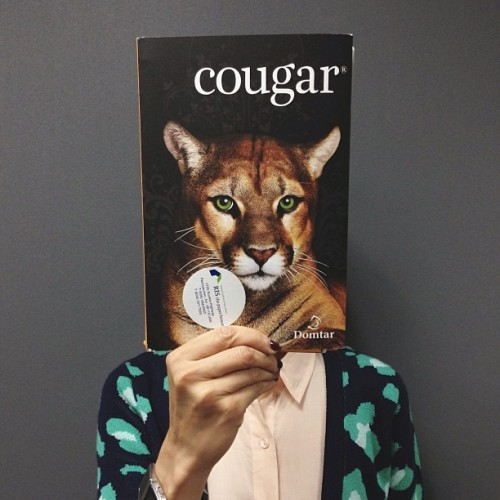 Proud to be a… #cougar (Photo by @_rosie_posie_)