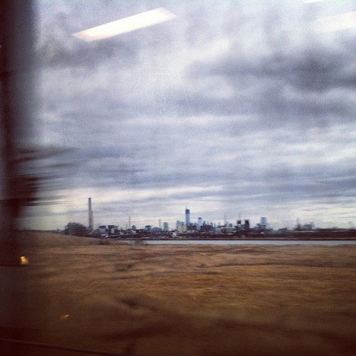 NYC from afar. #nyc #newark