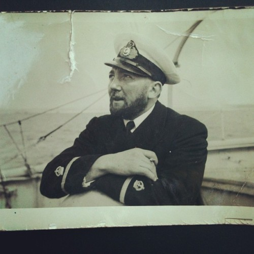 A photo of my great Grandfather, who was in the RAF Sea Rescue. Had such a rad day having tea and lunch with my grandparents and my gramps brought out this photo album with all these black and white photos from the 1930s and 40s. So much history.