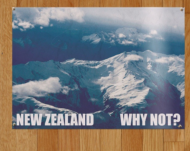 gilgret:  All of Murray's New Zealand tourism posters from FotC