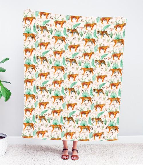 Tropical & Tigers, Bohemian Throw Blanket Art Inspired Living. Shop our latest collection via @society6 → https://society6.com/83oranges/throw-blankets?curator=83oranges OR Shop our best-sellers & more via the artist's studio → https://83oranges.com/shop/tropical-tigers-throw-blanket/?feed_id=1964&_unique_id=608cdef6f2690 . . . #83oranges #artforsale #artinspiredliving #artprints #society6 #illustration #modernbohemian #bohointeriors #shopsmallspreadjoy #shopindependent #homesweethome #artist #boholiving #wallart #walldecor #pocketofmyhome #eclecticdecor #artprintsavailable #supportindependentartists #bohodecor #creativespace #jungalow #womenwhodraw #procreate #homedecor #originalartwork #urbanjungle #creativespace #contemporaryart #emergingartist #Animals#Botanical#Illustration#Jungalow#MidcenturyModern#ModernBohemian#Palms#Pattern#Tiger#Tropical#Wildlife