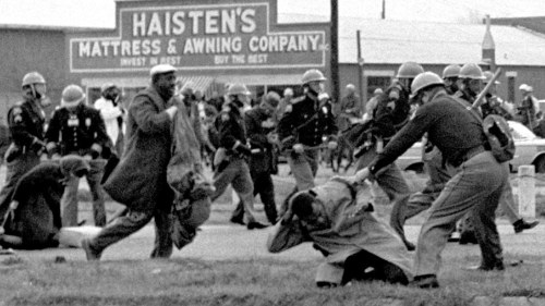 americaforward:  Don't edit the Voting Rights Act - remember Bloody Sunday On March 7th, 1965, state troopers attacked and beat 525 peaceful protesters marching for voterregistrationin Selma, Alabama. The horrific display of police brutality known as 'Bloody Sunday' spurred the passing of the Voting Rights Act of 1965, which ensured and protected the right to vote for millions ofminorities in America. To remove any part of the Act, to take away any of the rights included in it, would be disrespectful to those who lost their lives fighting for it.