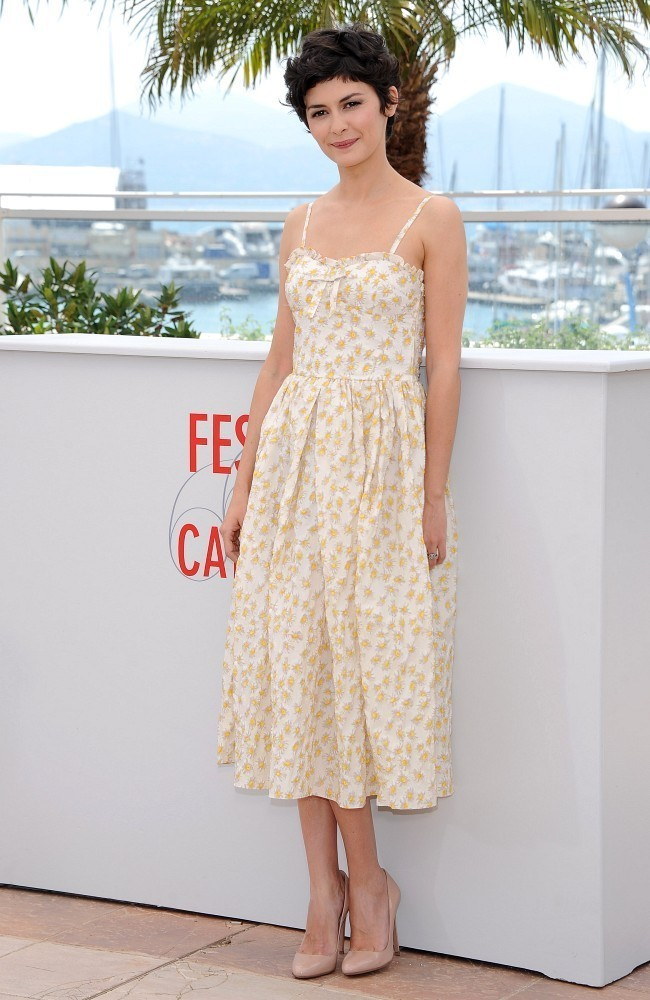 fuckyeahhotactress:  Audrey Tautou poses at the Palais des Festivals