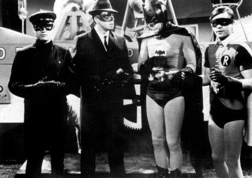 The Green Hornet & Kato meet Batman & Robin (1967)