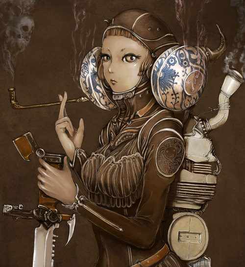 steampunktendencies:  Smoker - Nao
