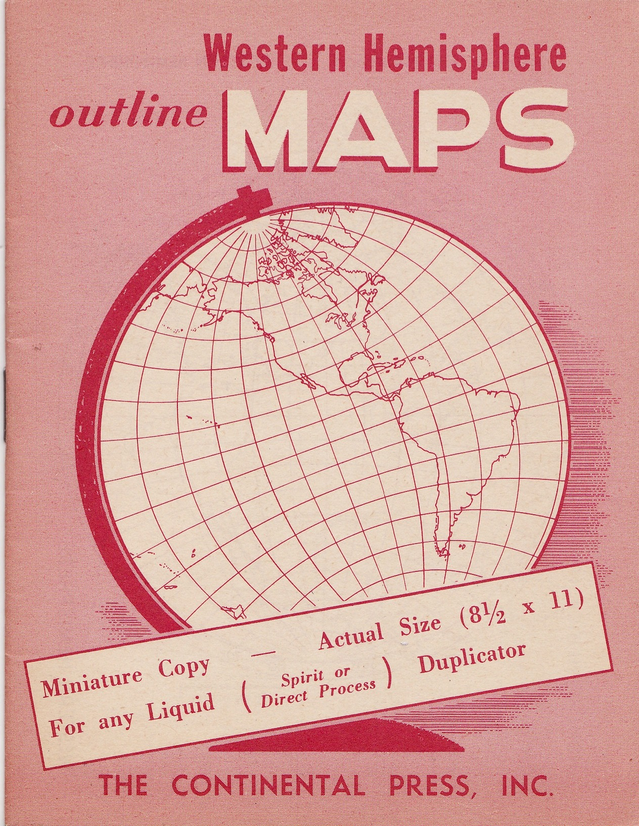 elranchonotsogrande:  Vintage booklet of maps.  From my personal collection.