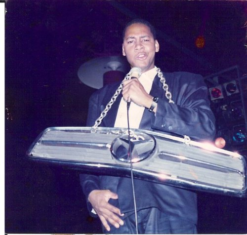Mark Curry circa 1988 (via Bay Area Black Comedy Competition)