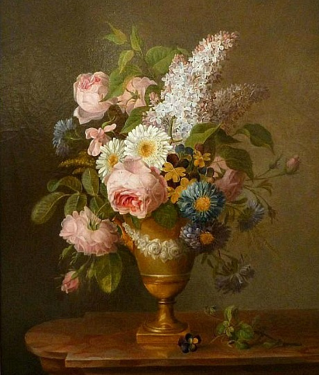 Caroline Bellanger Bouquet of Flowers 19th century
