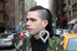 "humansofnewyork:  ""I've got two months to find a job. Cause I can't go back to fookin' Ireland."""
