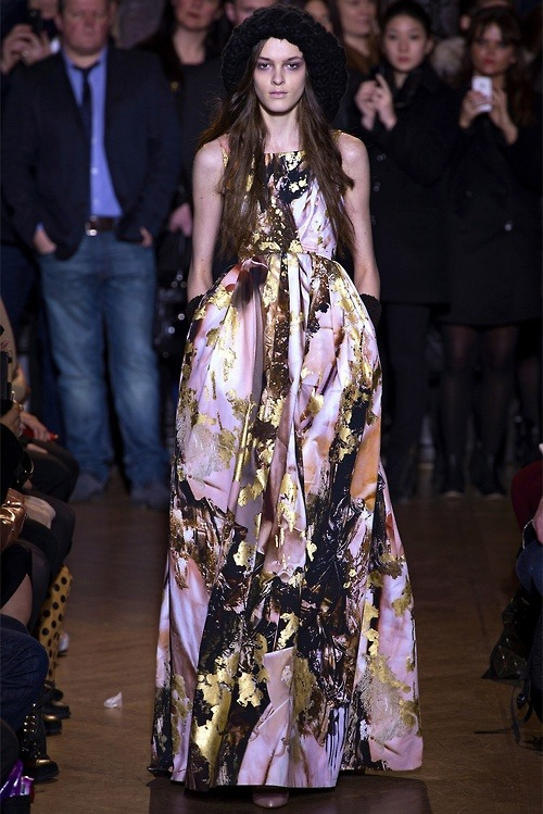 SJP's 2013 Met Gala dress on the runway Giles Fall RTW 2013