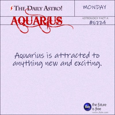 Aquarius 5774: Check out The Daily Astro for facts about Aquarius.You can get a free instant birth chart here.