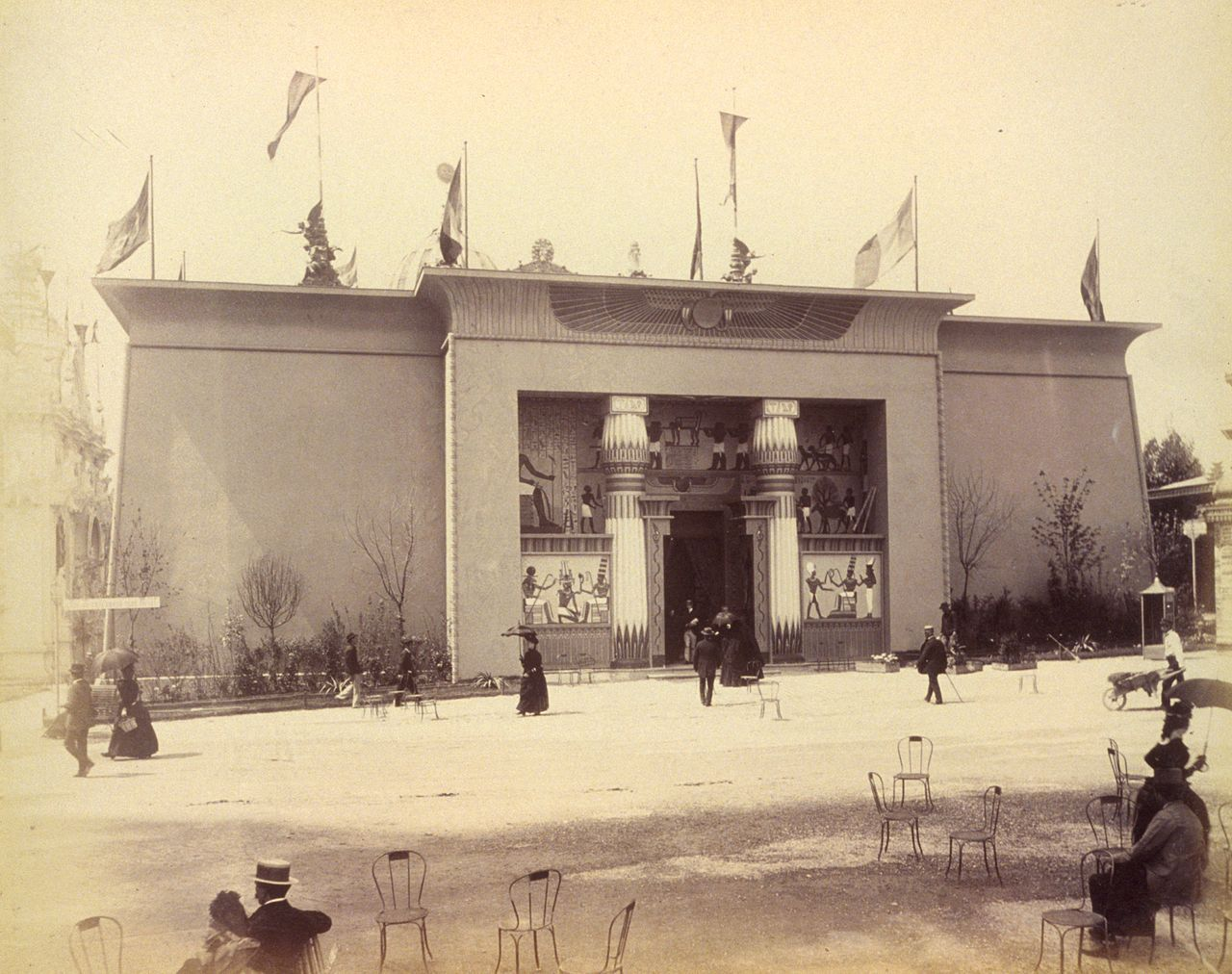 The Pavilion of the Suez Canal Company at the 1889 Exposition, Paris