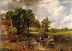 John Constable (1776-1837), The Hay Wain, 1821, National Gallery, London.