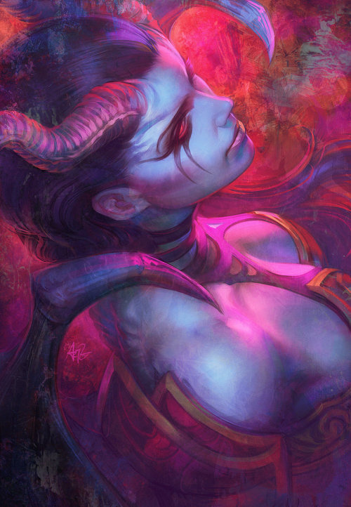 inspirationofelves:  Ms Pain by `Artgerm