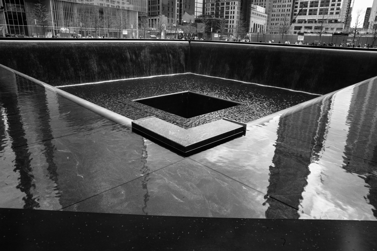 World Trade Center Memorial Reflecting Pool.