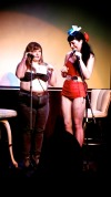 "sexandculture:  Images from the WhoreCast Live event that took place at the Center for Sex and Culture, Saturday May 18th. This was the opening event for the San Francisco Sex Worker Film & Art Festivel 2013, taking place May 18th - 26th.  The Live event was a wonderful, becoming a mix of talk show, variety/vaudeville, peep show, and a live performance event, featuring-  Cinnamon Maxxine  Courtney Trouble  James Darling  Arabelle Raphael and   Maxine Holloway   as well as entertainment by the lovely Lusty Laides.   The WhoreCast is hosted by the adorable Siouxsie Q. The mission— ""striving to humanize people in the sex industry. The WhoreCast provides a glimpse into her world of sexwork by sharing the stories, art, and voices of sexworkers.""   Be sure to check out WhoreCast and all the amazing events and happenings taking place during the San Francisco Sex Worker Film & Art Festival.     photos by library vixen"
