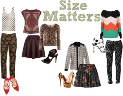 Print On Print: Size Matters by tiffheartfashion featuring a leopard cardigan