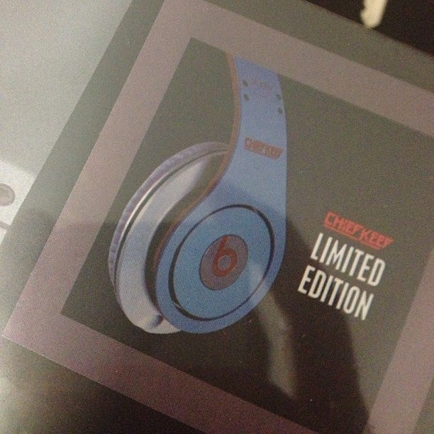 FINALLY.. #BeatsByDre #ChiefKeef limited edition