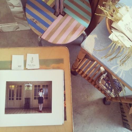 moda artesanal como escapada de un cuento www.mariepolet.com #Zaragoza #igerszaragoza #fashion (en MÙ Restauración)
