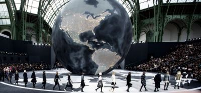 The runway at CHANEL Fall 2013