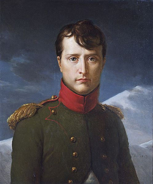 daily-napoleon:  Portrait of Bonaparte, First Consul —- By Gerard Chantilly, 1803