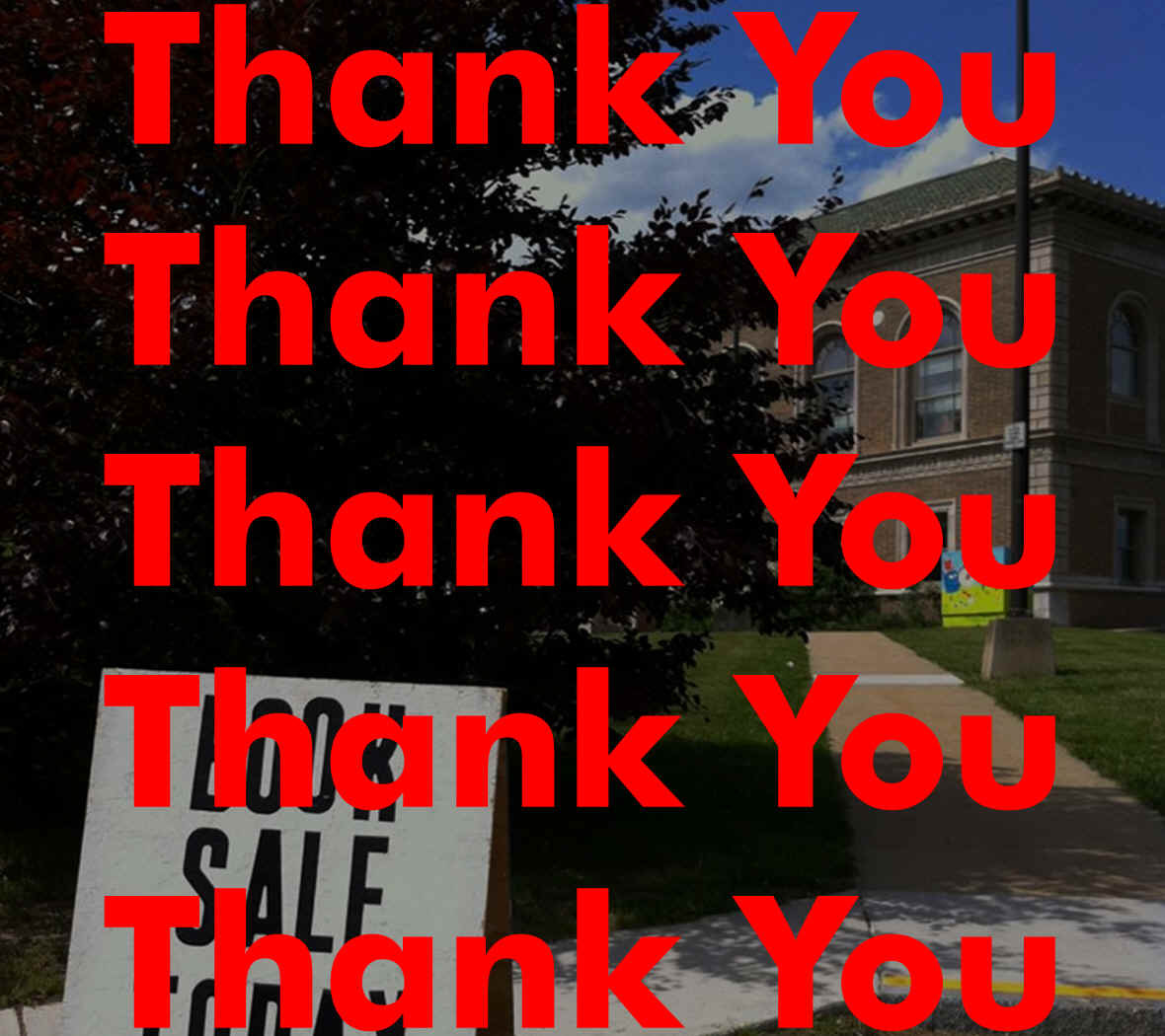 somervillepubliclibraryfriends:  Thank you! http://somerville.patch.com/announcements/thank-you-to-all-the-library-book-sale-volunteers-543c018f