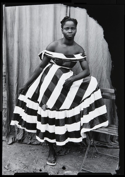 lauramcphee:  Young girl wearing Samba dress, 1950s (Seydou Keita)