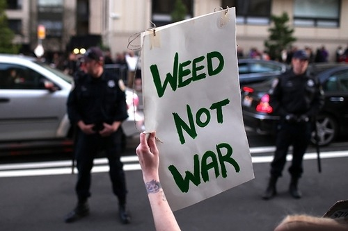weedporndaily:  Mr. President, End This War (RollingStones) As a teenager, Barack Obama liked to get high in the back of a friend's VW bus. His hallmark: a smoking technique he called Total Absorption. He knows, as did George W. Bush and Bill Clinton before him, what we all know: that pot is essentially harmless. Yet the government continues to wage a senseless and costly war on marijuana, treating pot as if it were more dangerous than crack cocaine. More than 750,000 Americans were arrested on marijuana charges last year – 87 percent for simple possession. The costs of prohibition are staggering – nearly $8 billion a year wasted on police and prisons alone, with billions more squandered by not taxing pot like tobacco or alcohol. In Mexico – where nearly two-thirds of the pot smoked in this country originates – drug violence has claimed nearly 50,000 lives since 2006. Yet all the while, demand for pot has increased like wildfire: Nearly 30 million Americans enjoyed pot at least once last year. Mr. President, this war is a sham, a folly, a colossal waste of money and human potential. And you can end it with a few strokes of your pen. Through executive order, you can advance life, liberty and the pursuit of happiness, and begin to bring another mindless war to a responsible conclusion. All it requires is the same courage you displayed on gay marriage. Simply say what's in your heart – what you know to be true.