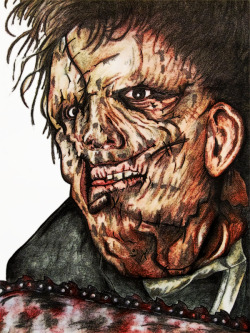 Leatherface has eyes for you…
