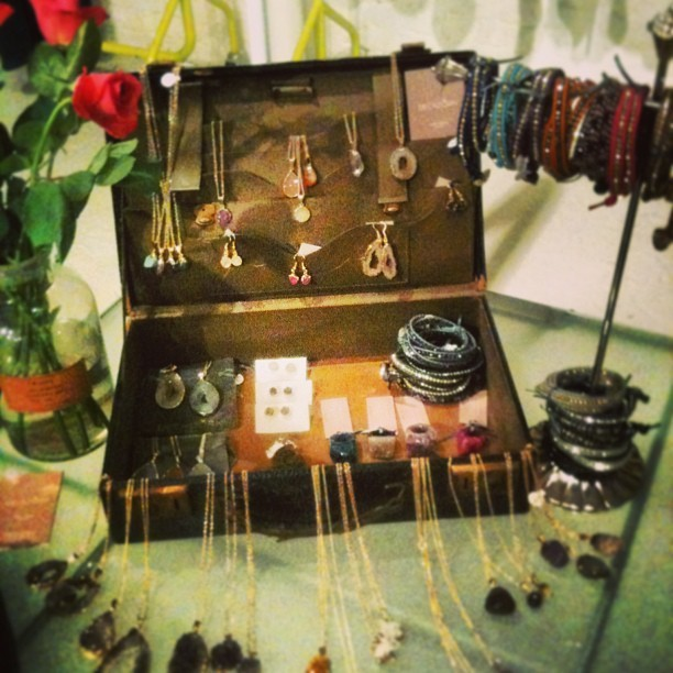 February Amethyst Birthstone Range at Mercantile, Shoreditch #fashion #jewellery #london #stone #leather