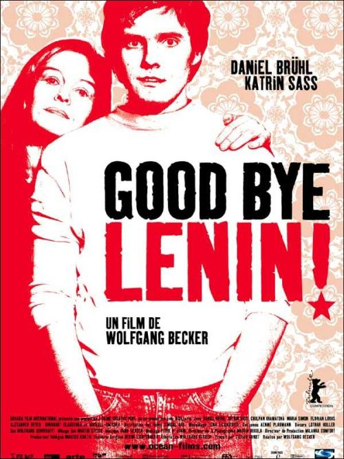 malditoscinefilos:  POSTER// GOOD BYE, LENIN!