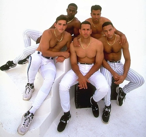 Is This The Most Erotic Baseball Photo Ever Taken?  Shortstop Hot Tub Time Machine. (They're not actually in a hot tub, but they may as well be.)