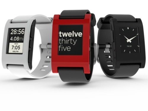 nerdtherapy:   The surprise star of CES 2013.  The Pebble Watch: http://getpebble.com/