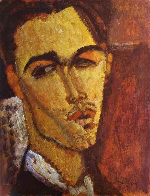 Portrait of the Spanish Painter Celso Lagar Amedeo Modigliani