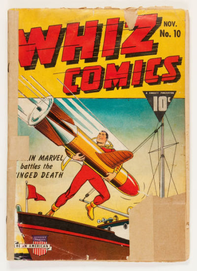 Whiz Comics #10 (Fawcett Publications, 1940)