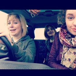 sourcils:  BECCA'S FIRST DRIVE TO NORWICH.  PLEASE DO A TEEF FACE IN THE SAME WAY ALL THREE OF YOU TAG ME ON INSTA :D