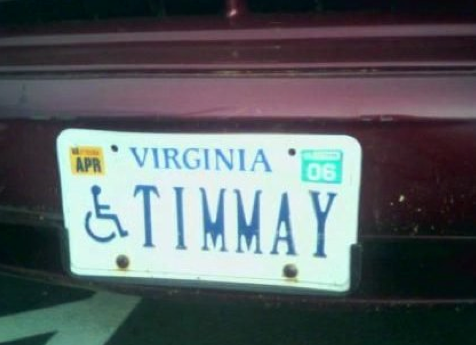 funnyordie:  15 Vanity Plates That Should Not Exist (But We're Glad They Do) Your vanity plate isn't the great idea it seemed to be at the time. But that doesn't mean it can't be celebrated.  NICE!!!
