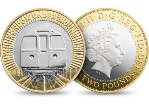New £2 coin to celebrate the London tube's 150th