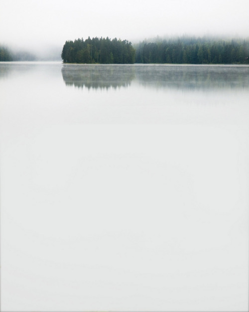 unwrittennature:  Milky water landscape (by tumppi01)