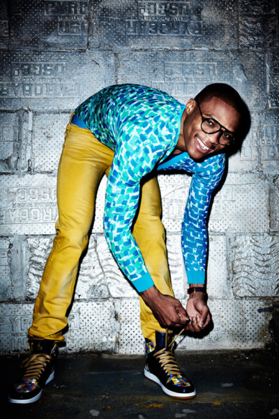 OKC Thunder's Russell Westbrook for Flaunt Magazine[Spring 2013] Read the full article here…